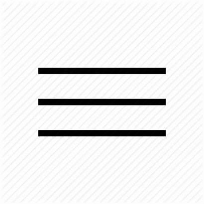 Menu Icon Android Hamburger Line Mobile App