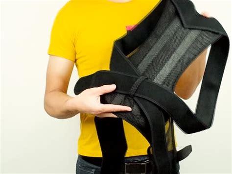 Adjustable Posture Correction Back Brace For Men And Women ...