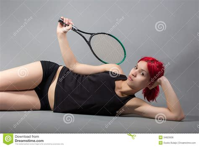 tennis player royalty  stock image image