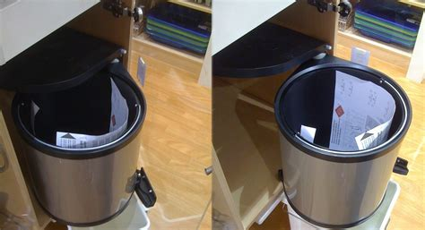 kitchen dustbin cabinet pull out dustbin for kitchen cabinet with swing doors 1593