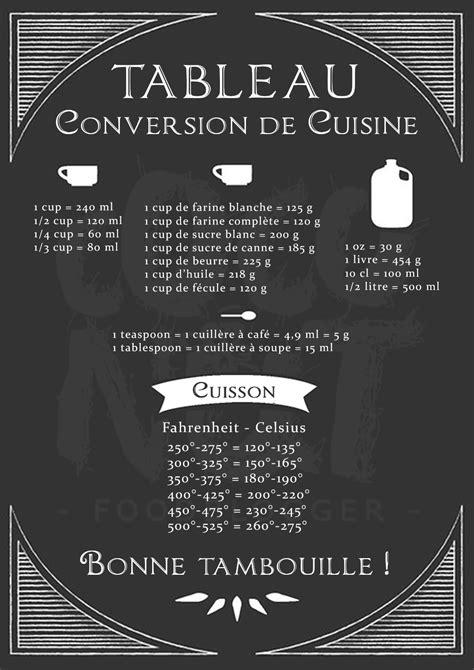 equivalence en cuisine affiche conversion cuisine équivalence us coconut