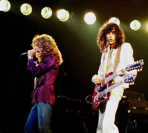 Filejimmy Page With Robert Plant 2  Led Zeppelin 1977