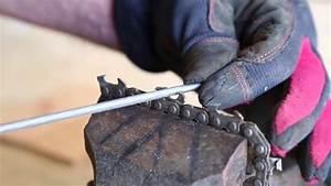 Comment Aiguiser Une Chaine De Tronçonneuse : comment aiguiser et affuter la chaine d une tron onneuse ~ Dailycaller-alerts.com Idées de Décoration