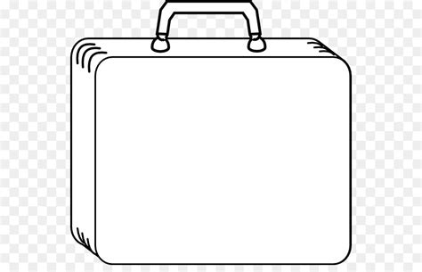 Kleurplaat Koffer by Suitcase Baggage Clip Suitcase Coloring Page Png