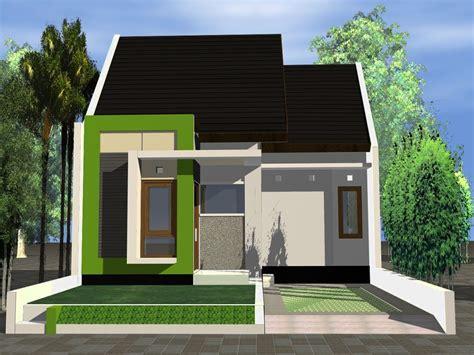 rumah mungil kecil minimalis solusi hemat bangun rumah