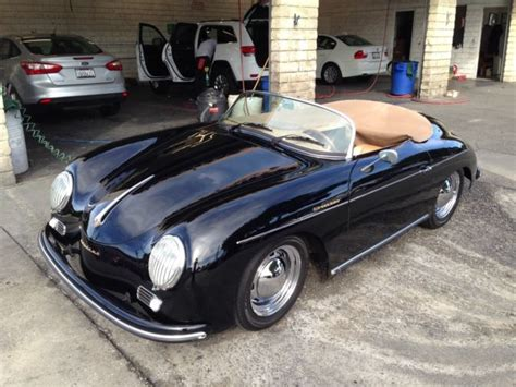 Porsche 356 Speedsters For Sale by Replica Porsche 356 Speedster Built By Vintage Speedsters