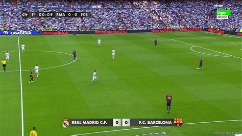 la liga real madrid  barcelona full hd  full