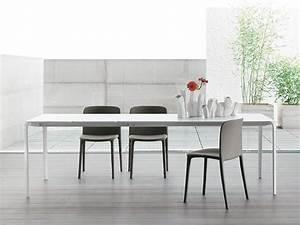 Weißer Tisch Mit Holzplatte : 8065 light design tisch von tonin casa aus metall glas oder holzplatte 140x90 cm ~ Bigdaddyawards.com Haus und Dekorationen