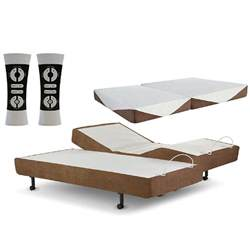 sheets for split king adjustable bed 200tc blend