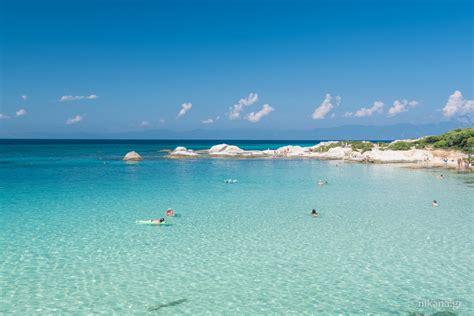 Kavourotripes Beach Map Photos Hotels Shops