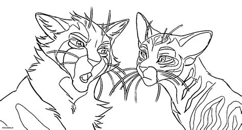 warriors cats coloring pages   printable coloring pages
