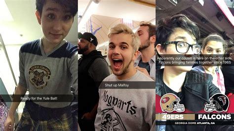 bex taylor klaus video bex taylor klaus best funny snapchat videos scream