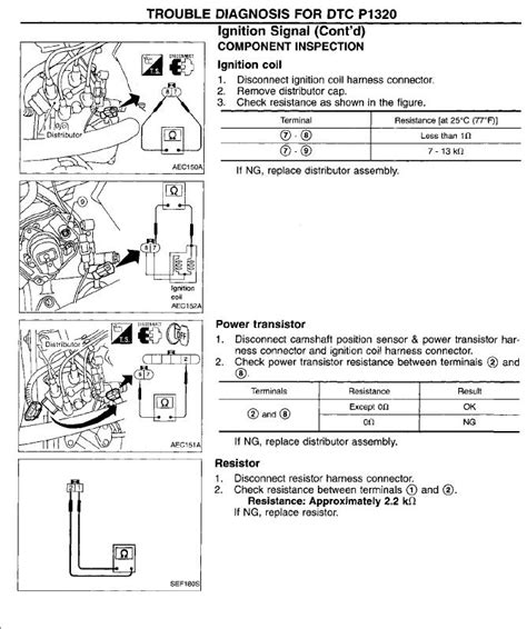 Wiring Diagram For 96 Nissan Xe by 1997 Nissan Up No Spark Does Not Start Changed