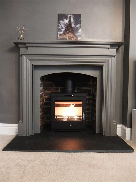 hetas wood burner installation guildford surrey log