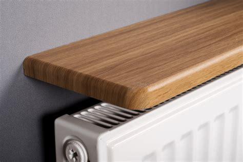 pine shelf rounded radiator shelf 900x150x18mm oak mastershelf