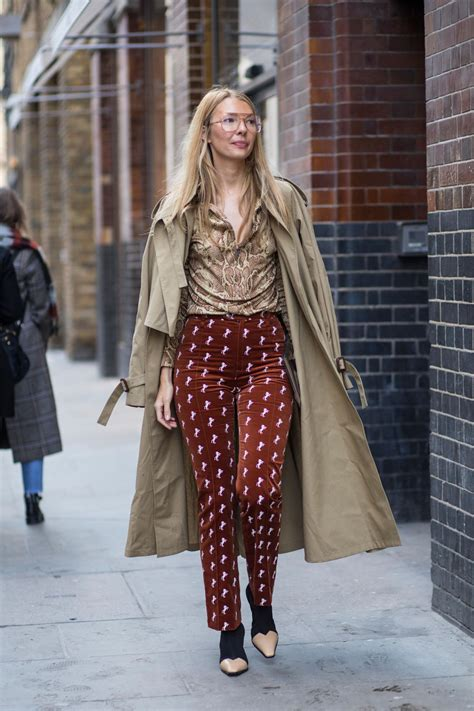 Best Street Style Looks of LFW Fall 2018 | The Fashion Medley