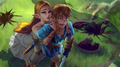 Legend Of Zelda Botw Wallpaper Animated Wallpaper Fanart Loz Botw Youtube