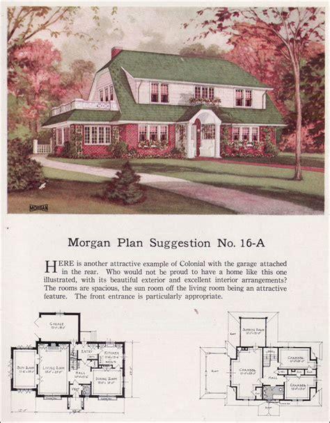 morgan dutch colonial revival clipped gable gambrel shed dormer building