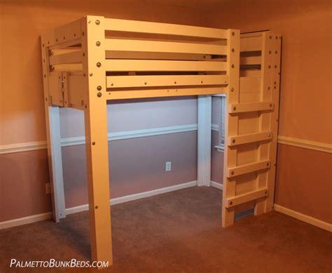 kids loft beds plans plans  twin  queen bunk