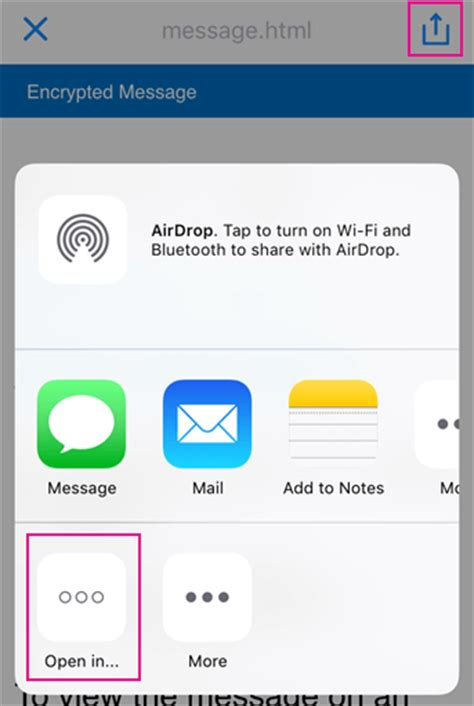 support iphone bureau view protected messages on your iphone or office