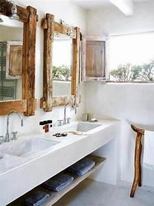 Salle De Bain Blanche Et Bois : id es de d coration de salle de bain de r ves ~ Preciouscoupons.com Idées de Décoration