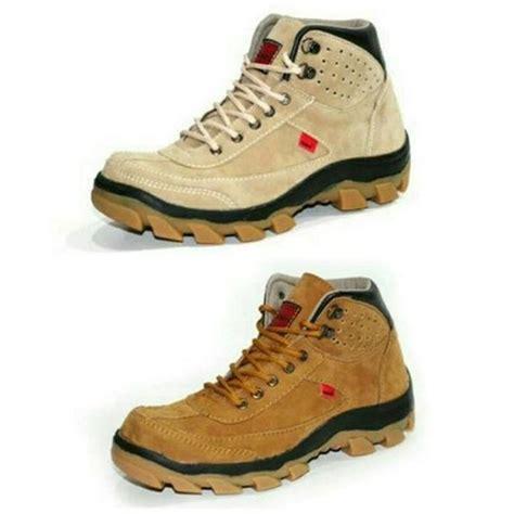 sepatu boots pria keren sepatu kickers safety suede mercy olguer botas hombre zapatos