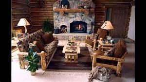 Fascinating Log cabin decor ideas - YouTube