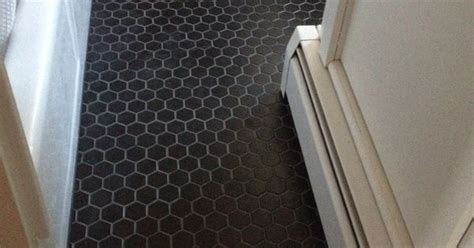 matte black tile  charcoal grout thayer reed pinteres