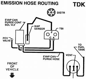 Vacuum Diagram For 1994 Chevy S10 2 2