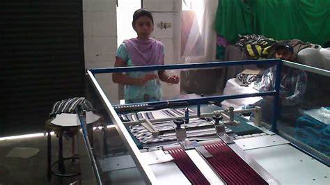 shirt folding bagging machine  garment youtube
