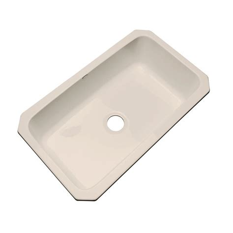 acrylic undermount kitchen sinks thermocast manhattan undermount acrylic 33 in single bowl 3980