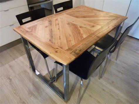 cuisine originale en bois décoration cuisine bois acier 26 etienne