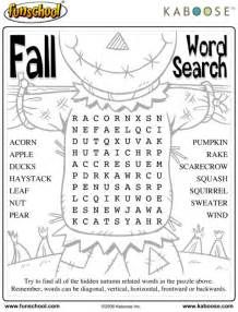 Printable Fall Word Puzzles - Printables 4 Mom