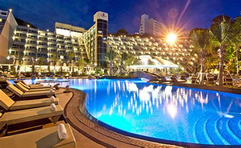 Royal Cliff Beach Resort Thailand Dunham Bush