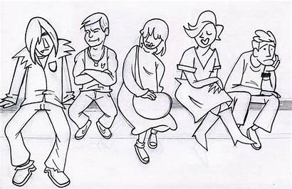 Breakfast Club Drawing Fanpop Drawings Sketch Paintingvalley