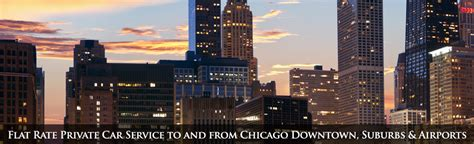 Chicago Chauffeur Service by Nm Car Service Inc Chicago Il Airport Transportation