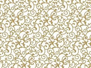 Wedding Tissue Paper - Elegant Gold Scroll Ream