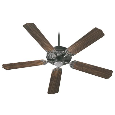 fan and lighting world quorum lighting capri old world ceiling fan without light