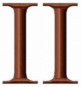 Chiffre Romain De 1 A 50 : motif broderie machine chiffres romains brodamaryllis ~ Melissatoandfro.com Idées de Décoration