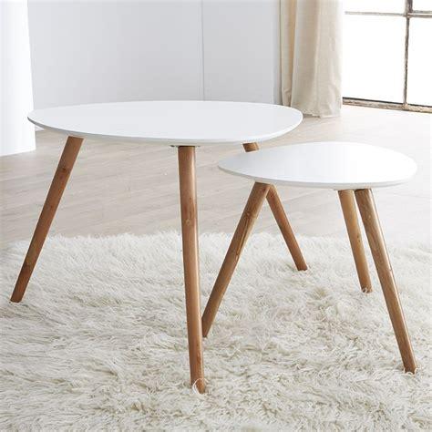 table basse chambre 17 meilleures idées à propos de table gigogne scandinave