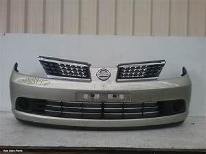 81081  Used Front Bumper For 2009 Tiida