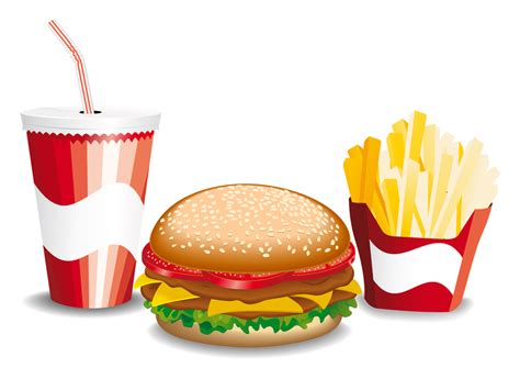 Fine Fastfood Icon Vector Vector Download