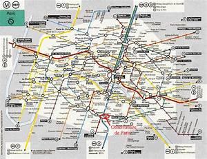 plan métro Paris Pinterest Voyage