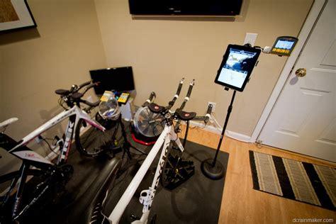 Recumbent Bike Desk Diy by Diy How I Made A Trainer Bike Computer Phone Stand