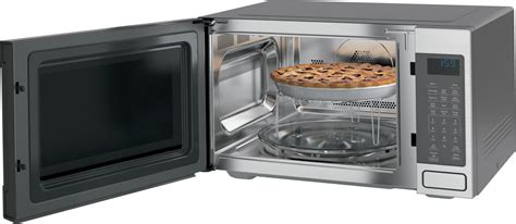 Microwave Convection Countertop by Ceb1599sjss Ge Cafe 1 5 Cu Ft Convection Microwave