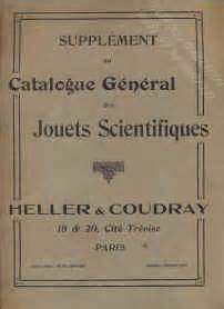 magasin heller  coudray jouets scientifiques date inconnue