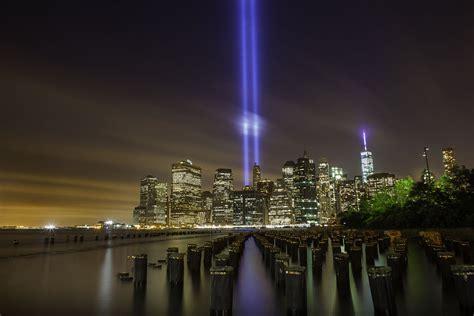 Twin Towers Memorial Lights 9 11