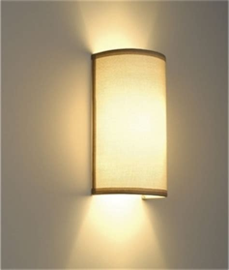 modern wall light with fabric shades lighting styles