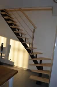 Escalier Un Quart Tournant Gauche by Fabrication Escalier Limon Central 1 4 Tournant Bas Gauche