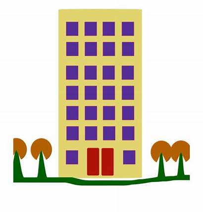 Apartment Clipart Building Clip Vector Library Factory
